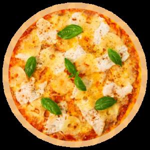 Kūpinātas vistas pica